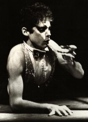 me in michael matou cabaret show in sydney 1982