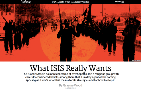 Article on ISIS