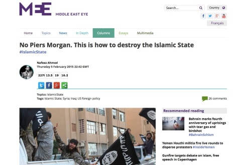 In-depth Article on ISIS